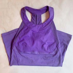 worn lululemon tank top